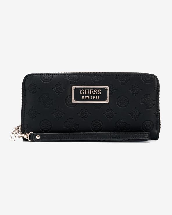 Guess Love Large Peňaženka Čierna