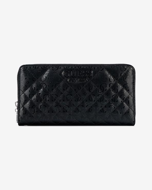Guess Queenie Large Peňaženka Čierna