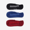 Converse Ponožky 3 páry Čierna Modrá Červená