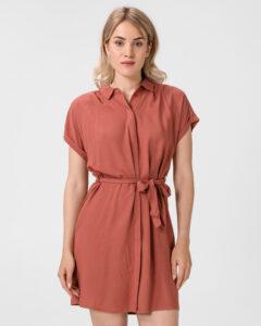 Vero Moda Simply Easy Šaty Červená