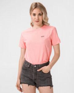 Vans Junior V Tričko Ružová Béžová