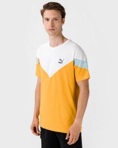 Puma Tričko Žltá Biela