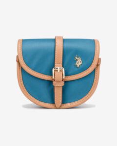 U.S. Polo Assn Houston Mini Cross body bag Modrá Béžová