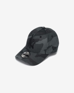New Era New York Yankees Essential Camo Šiltovka Čierna Šedá