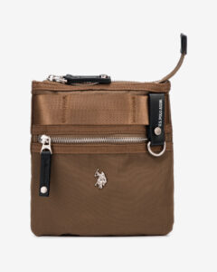 U.S. Polo Assn New Waganer Cross body bag Zelená Hnedá