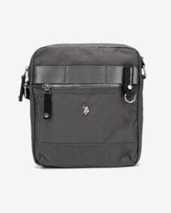 U.S. Polo Assn New Waganer Medium Cross body bag Šedá