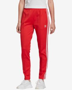adidas Originals SST Tepláky Červená