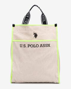U.S. Polo Assn Halifax Taška Žltá Béžová