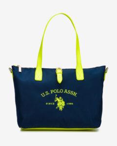 U.S. Polo Assn Patterson Fluo Kabelka Modrá Žltá
