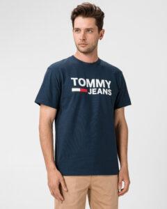 Tommy Jeans Tričko Modrá