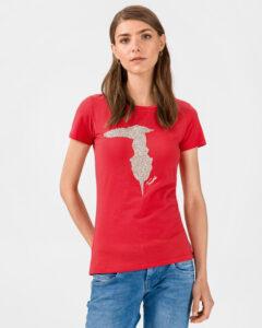 Trussardi Jeans Poppy Tričko Červená