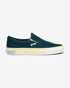 Vans Classic Slip On Modrá Zelená