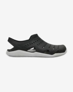 Crocs Swiftwater Wave Sandále Čierna