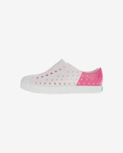 Native Shoes Jefferson Block Slip On detské Ružová