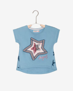 Desigual Nuevomexic Tričko detské Modrá