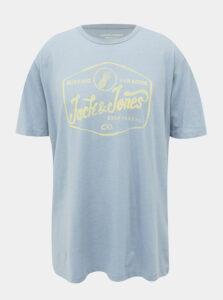 Svetlomodré tričko Jack & Jones Namen