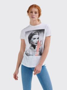 Biele dámske tričko Alcott
