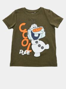 Kaki chlapčenské tričko name it Molaf