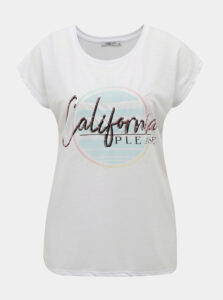 Biele dámske tričko Haily´s Cali