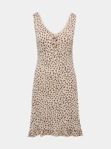 Béžová vzorovaná nočná košeľa M&Co