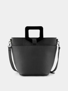 Čierna kabelka Pieces Mille