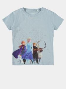 Modré dievčenské tričko name it Frozen