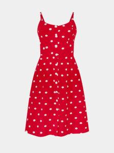 Červené bodkované šaty Dolly & Dotty
