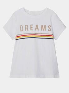 Biele dievčenské tričko name it Franseska