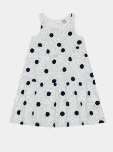 Biele dievčenské bodkované šaty name it Vigga