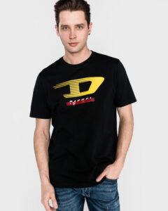 Diesel Just Y4 Tričko Čierna