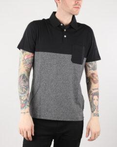 Lee Polo tričko Čierna Šedá
