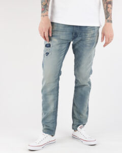 Diesel Krooley Jeans Modrá Šedá