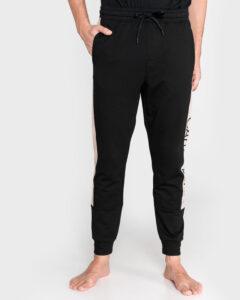 Calvin Klein Nohavice na spanie Čierna Béžová