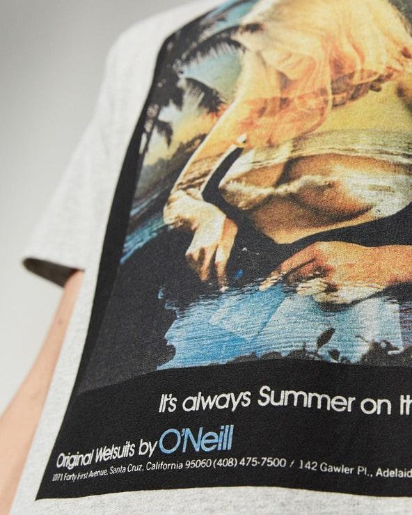 O'Neill Always Summer Tričko Šedá
