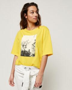 O'Neill Felines Tričko Žltá