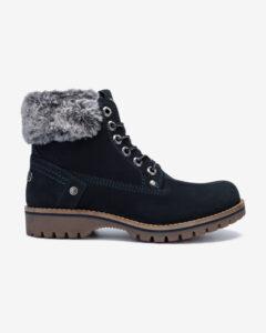 Wrangler Alaska Členkové topánky Čierna Modrá