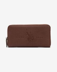 U.S. Polo Assn Crestwood Large Peňaženka Hnedá
