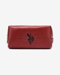U.S. Polo Assn Folsom Large Kozmetická taštička Červená