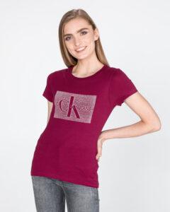 Calvin Klein Monogram Tričko Červená Ružová