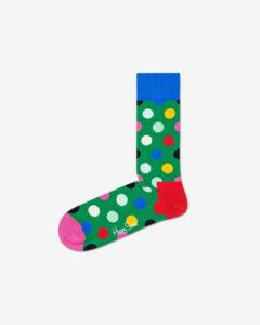 Happy Socks Big Dot Ponožky Zelená