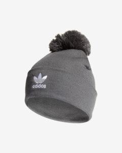adidas Originals Adicolor Bobble Zimná čiapka Šedá