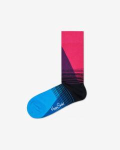 Happy Socks 80's Fade Ponožky Modrá Ružová