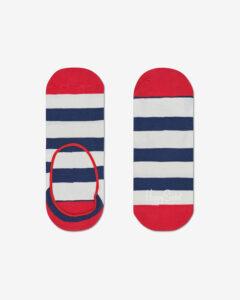 Happy Socks Stripe Ponožky Modrá Červená Biela