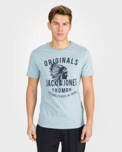 Jack & Jones Zugga Tričko Modrá