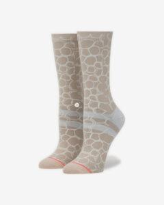 Stance Uzu Ponožky Hnedá Béžová