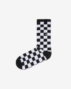 Vans Checkerboard II Ponožky Čierna Biela