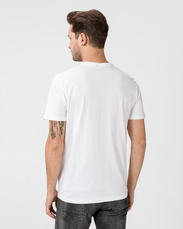 GAS Scuba/S Denim L. Tričko Biela Viacfarebná