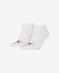 Puma Ponožky 2 páry Biela