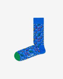 Happy Socks City Jazz Ponožky Modrá