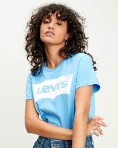 Levi's® The Perfect Tričko Modrá